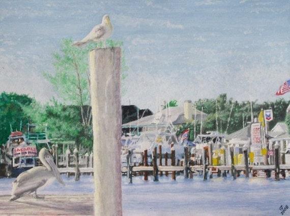 Pirates Cove Stuart Florida - LIMITED - Free shipping USA - SALE