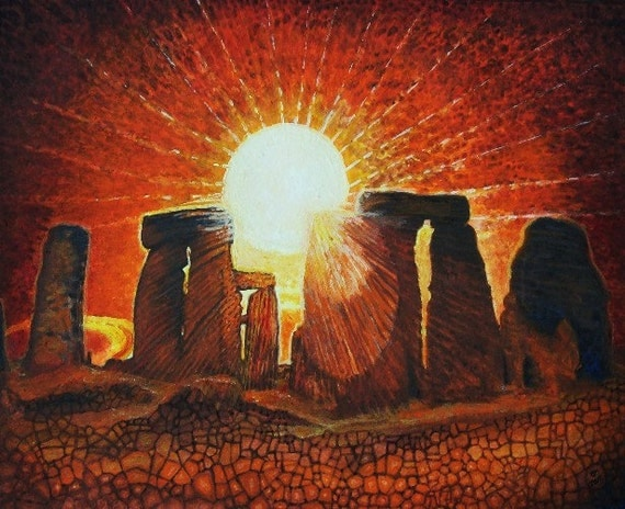 Stonehenge - LIMITED -  free shipping within continental USA