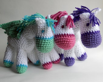 Crochet Pegasus