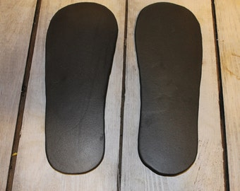 Outdoor Shoe Soles-----Waterproof Soles for Making Outdoor Shoes and Boots----THICK AND COMFORTABLE-----not hard and thin like soling sheets