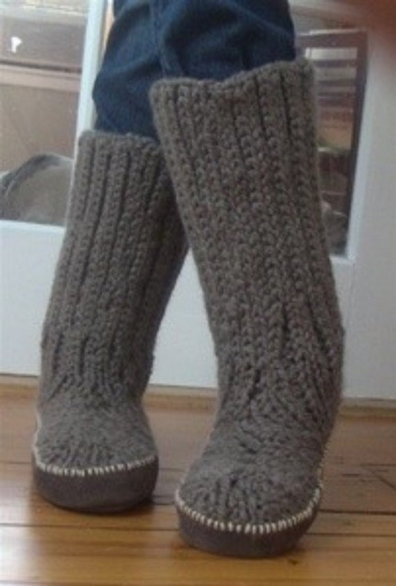 Knitting Pattern For Slippers That Look Like Sneakers : Sewing Pattern SolesTutorialMake your own