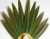 Cruelty Free- Conure Feather Smudge Prayer Fan