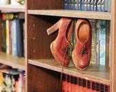 Vintage Oxford high heel shoes UK size 3