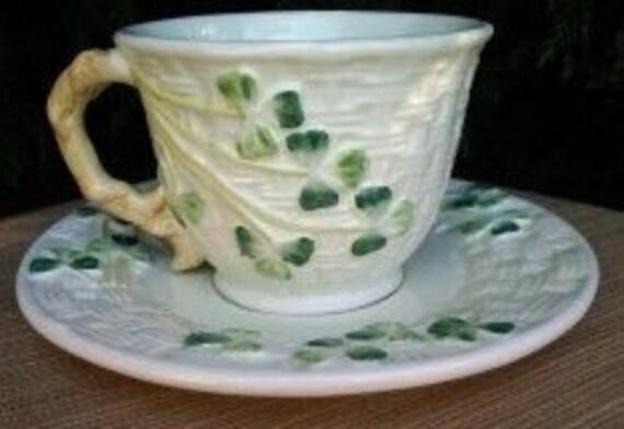 Vintage Shamrock Tea Cup and Saucer
