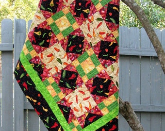 Hot Peppers Quilt
