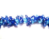 Bright Blue and Green Bracelet- FREE shipping