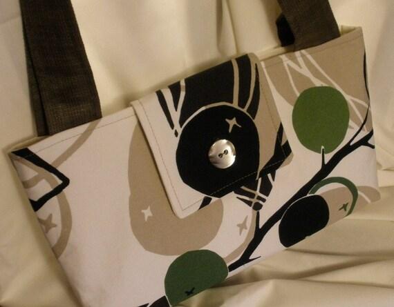 Purse Handbag Small Medium with Button Toggle TT Team ESASO Team