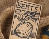 Hand-DRAWN Garden Marker for Beets