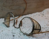 Sold to Melissa Vintage Steampunk Safety Goggles