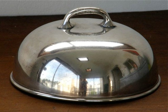 Vintage Metal Food Cover Or Dome Mid Century Restaurant Ware