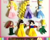 Disney-Inspired Ribbon Character Hair Clip (U-Pick)