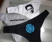 Iron Man Triple Panty Set