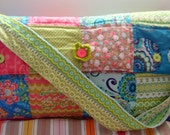patchwork diaper bag for custom order, handmade by SandyOwn