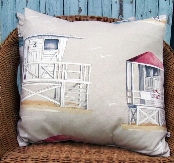 seaside pillow cover 18 inch pillow decorative pillow beach
