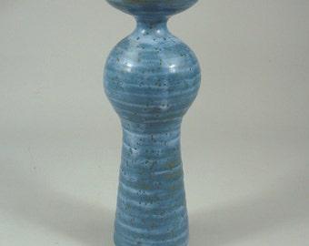 Ira Bates studio pottery vase mid century modern