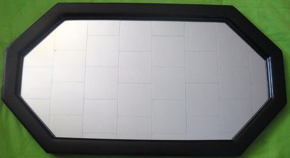 Black Gloss Frame with Mirror