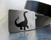 Brontosaurus Belt Buckle