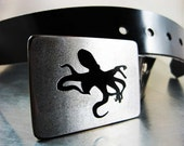 Octopus Belt Buckle - RhythmicMetal