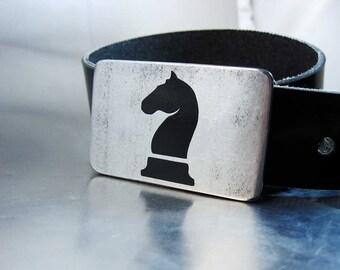 Black Knight Belt Buckle