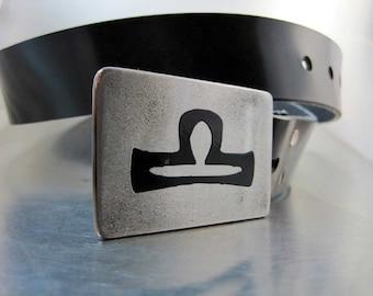 Libra Belt Buckle
