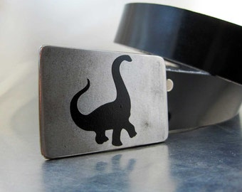 Brontosaurus Belt Buckle