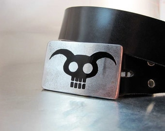 Demon Skull Belt Buckle