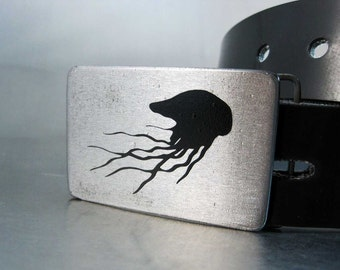 Jellyfish Belt Buckle