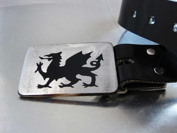 Welsh Dragon Belt Buckle