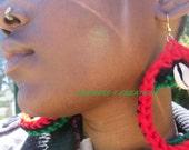Pan African Girl Earrings