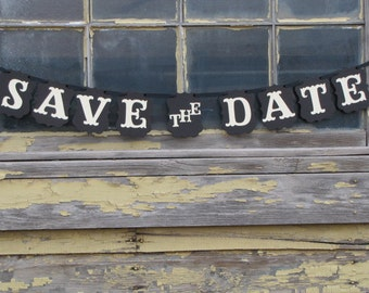 Save the Date Banner for Engagement photos, wedding photos, wedding announcements