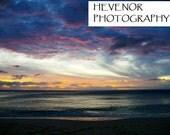 Hawaiian Sunset 8x10 Photograph