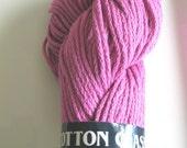 RESERVED for Denise - Yarn Destashing - TAHKI Cotton Classic  Color 3916  Dye Lot 173