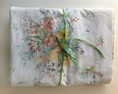 Vintage Twin Flat Sheet Simply Lovely