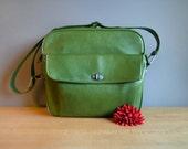 Vintage Samsonite Shoulder Bag in Green