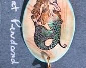 Fantasy Mermaid Pendant