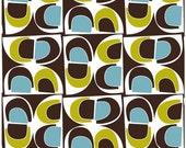 Daisy Janie Organic Cotton Fabric Geo Grand - Fruit Bowl - 1 Yard