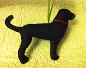 Felt Labrador Ornament