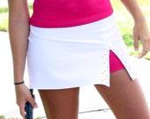 Swarovski Crystal Embellished Tennis Skirt (MORE COLORS)