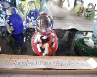 10x GLASSY BABY BIRDS GlassWorksBarbora in var. Colours