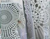 Crochet Flower Patterns Dresses Embellishment  Book  women's lace top skirt cardigan Magazine Duplet 107