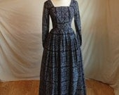 Vintage Sweet Daisy Mae Evening Gown
