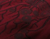 Gear Tree Tshirt - Dark Red - Mens or Womens - Steampunk - Burgundy Maroon