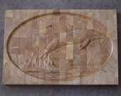 Cutting Board 18x12inches Embossed with Dolphin Image 2183