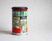 Cafe des Halles, Paris - Cylinder Tin