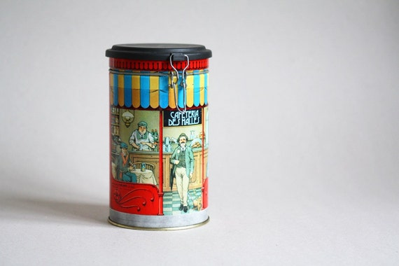 Cafe des Halles, Paris - Cylinder Tin