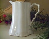 Vintage Creamer Or Syrup Pitcher W.S. George