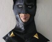 OOAK Batman Dark Knight Queen Palm Frond Wall Art by the Illusivewoman