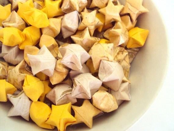 LAST SET 120 Sunrise Vine Origami Stars