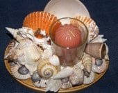 Seashell Votive/Tealight Candle Holder 2 -- Reserved
