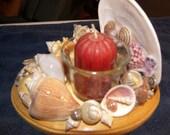 Seashell Tealight Candle Holder 1
